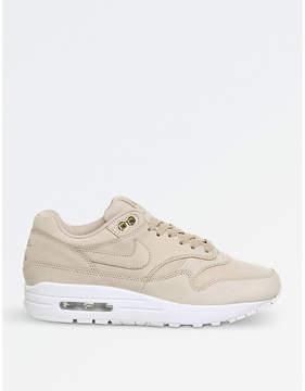 Nike 1 leather trainers