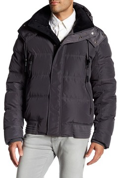 Andrew Marc Helston Quilted Down Jacket