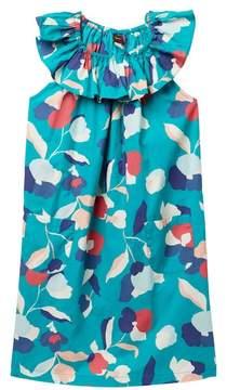 Tea Collection Evie Ruffle Neck Dress (Toddler, Little Girls, & Big Girls)