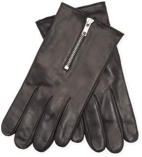 Portolano Men's Nappa Leather Woven Gloves