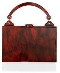 Edie Parker Housewife Acrylic Top Handle Bag