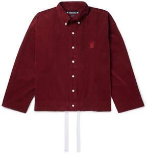 SASQUATCHfabrix. Button-Down Collar Cotton-Corduroy Shirt