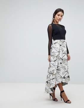 Coast Avery Textured Skirt Dress