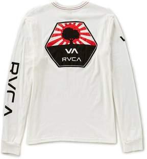 RVCA Bruce Irons Slim Fit Long-Sleeve T-Shirt