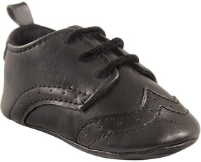 Luvable Friends Black Dress Shoe - Boys