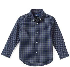 Ralph Lauren Little Boys 2T-7 Tartan-Plaid Long-Sleeve Woven Shirt