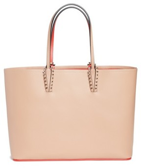 Christian Louboutin Cabata Calfskin Leather Tote - Pink