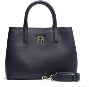 Tommy Hilfiger Small Leather Tote Bag