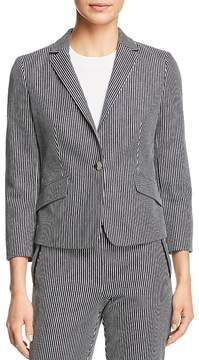 BOSS Katemika Striped Blazer