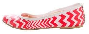 M Missoni Printed Ballet Flats