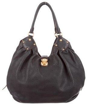 Louis Vuitton Mahina L Hobo - BLACK - STYLE