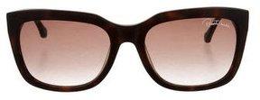 Roberto Cavalli Logo-Embellished Cat-Eye Sunglasses