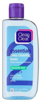 Clean & Clear® Brand's Essentials Deep Cleaning Toner - Skin Care Products For Sensitive Skin - 8oz