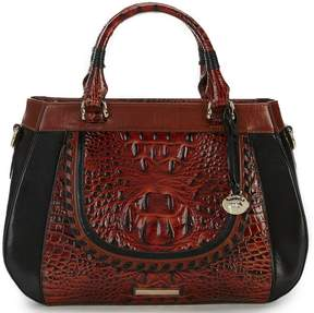 Brahmin Fitzgerald Collection Colorblock Raelynn Satchel