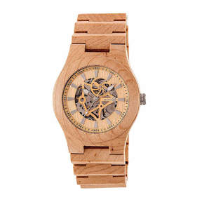 Earth Wood Gobi Unisex Brown Bracelet Watch-Ethew4301