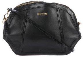 Burberry Leather Zip Crossbody Bag - BLACK - STYLE