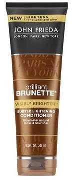 John Frieda® Brilliant Brunette® Visibly Brighter Subtle Lightening Conditioner - 8.3 fl oz