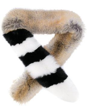 Off-White striped stole