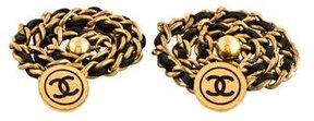 Chanel CC Chain Cufflinks
