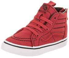 Vans Toddlers Sk8-hi Zip (contrast Stitch) Skate Shoe.