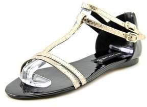Steve Madden Steven Keliina Women US 8 Silver Sandals