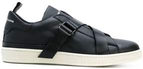 Officine Creative buckle strap sneakers
