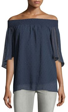 T Tahari Off-the-Shoulder Blouse
