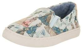 Toms Toddlers Luca Blue Cinderella Slip-on Shoe.