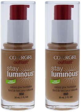 Cover Girl Classic Tan Outlast Stay Luminous Foundation - Set of Two
