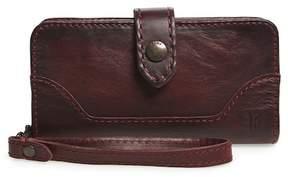 Frye Melissa Leather Phone Wallet