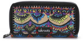 Sakroots-Artist Circle Double Zip Wallet