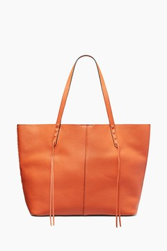 Rebecca Minkoff Medium Unlined Tote Whipstitch - ONE COLOR - STYLE