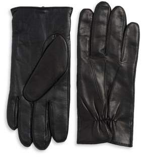 Black & Brown Black Brown TouchpointA? Leather Smart Gloves