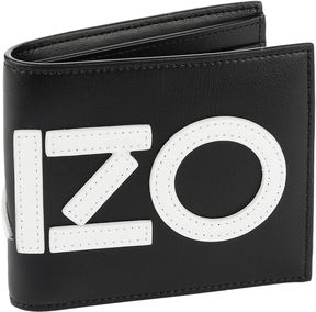 Kenzo Leather Colour Block Bifold Wallet