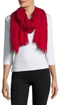 Lord & Taylor Fringed Scarf