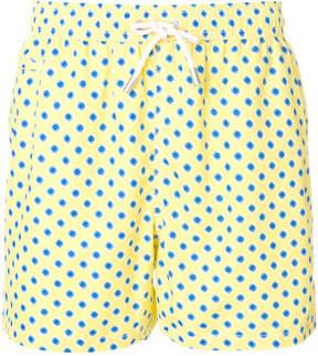 MC2 Saint Barth dot print swim shorts
