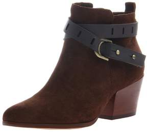 Nicole Suede Ankle Bootie