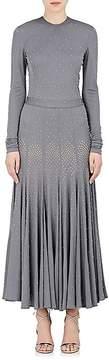 Derek Lam Women's Studded Fluid Jersey Gown