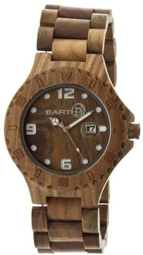 Earth Eco-Friendly Olive Wood Raywood Watch