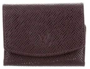 Louis Vuitton Taiga Cufflink Case