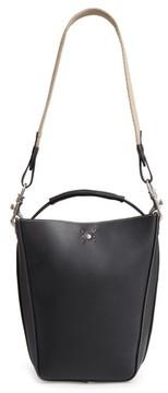 Ghurka Starlet Leather Bucket Bag - Black
