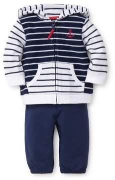 Little Me Baby's Two-Piece Breezy Sails Jacket Set