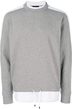 Diesel Black Gold layered sweatshirt