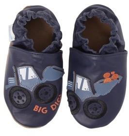 Robeez Infant Boy's Big Dig Crib Shoe