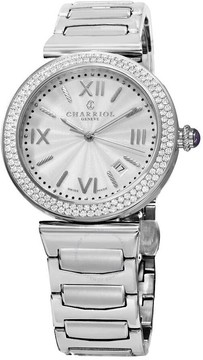 Charriol Alexandre Automatic Silver Dial Ladies Watch