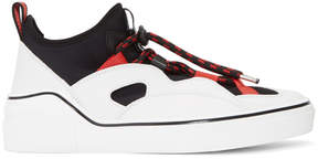 Givenchy Black and White George V Hike Low Sneakers