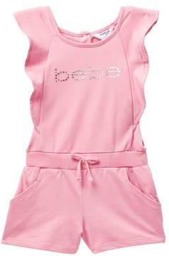 Bebe Active Romper with Logo