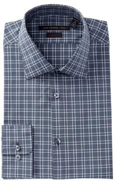 John Varvatos Plaid Regular Fit Dress Shirt