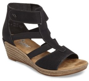 Rieker Antistress Women's Fanni 39 Wedge Sandal