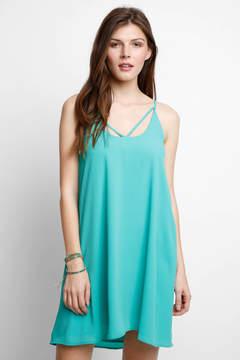 WAYF Trapeze Strappy Dress